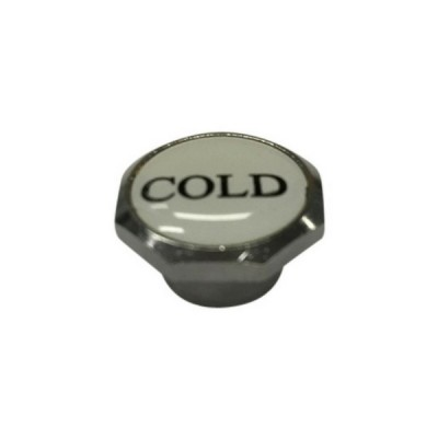 Standard Button Cold Chrome