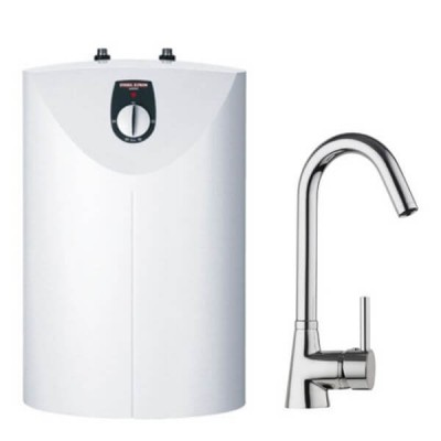 Stiebel Eltron SNU5SMESG Vented Water Heater With Sink Mixer
