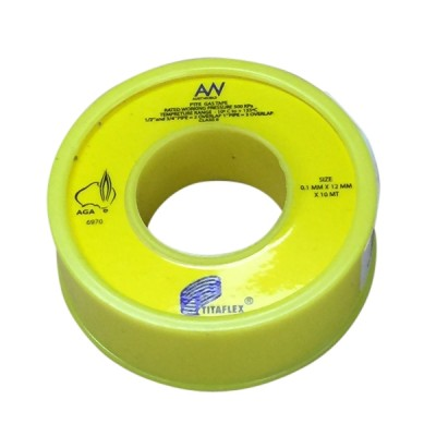 Teflon Tape Yellow Gas 15mm X 10m