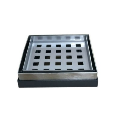 Tile Floor Grate Stainless Steel Suit 100mm Pvc