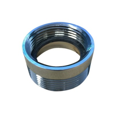 Trap Adaptor Chrome 40mm Male X 32mm Female