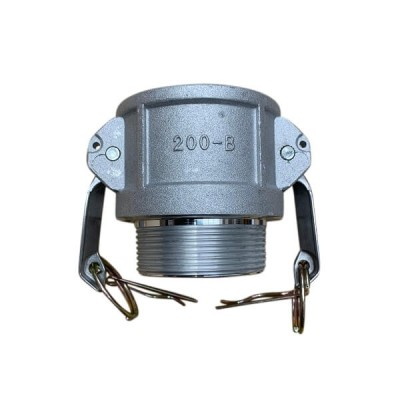 150mm Type B Female Camlock to Male BSP Coupling Alloy