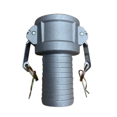 100mm Type C Female Camlock to Hose Tail Coupling Alloy