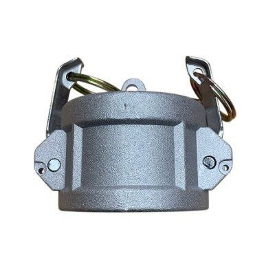 100mm Type DC Female Camlock Dust Cap Alloy