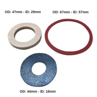 Unibra Flushometer Flush Valve Washer Kit RKU100