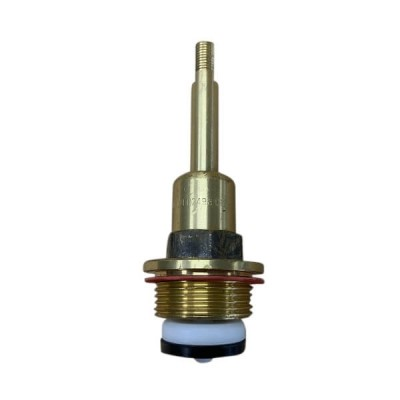 "Unstyled 20mm 3/4"" Fullway Stop Tap Spindle Flat Sided"