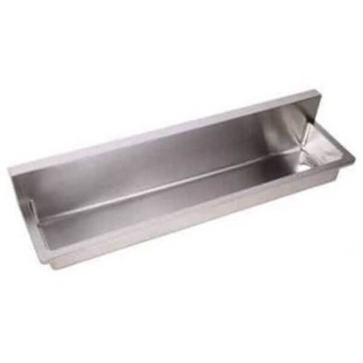 2400mm PWD Wall Mount Wash & Bubbler Trough Left Outlet 304 Stainless Steel PWD-2400L