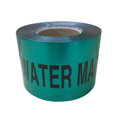 Water Warning Tape 100mm X 100m Detectable