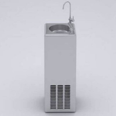 ZIP EMBCF140 Economaster Free Standing Upright Water Chiller with Bubbler & Carafe
