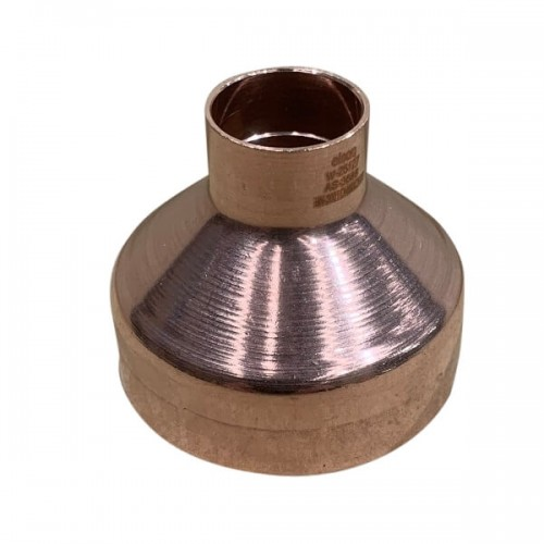 50mm X 20mm Copper Reducer M x F High Pressure Capillary