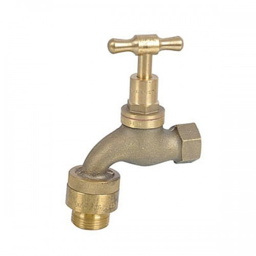 Hose Bib Brass Female Tee Head With Vacuum Breaker 15mm