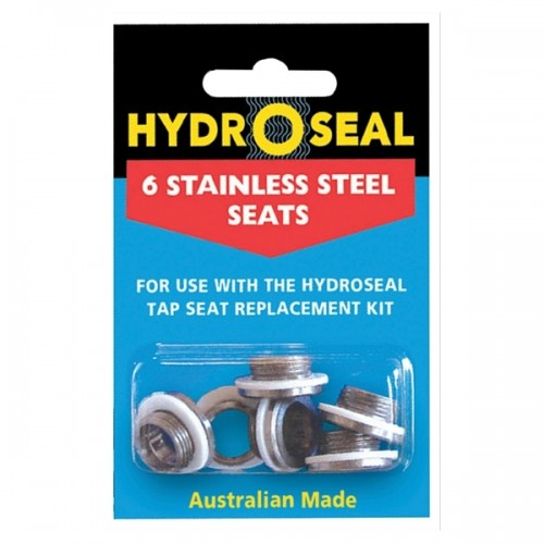 Hydroseal Stainless Steel Seat Amp Washer Pack 6 A55 006