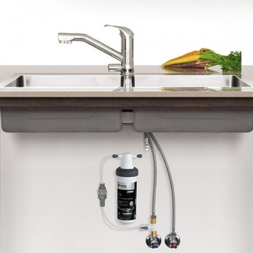Puretec Z1-T2 Tripla Water Filter Kit Undersink With 3 Way LED Mixer Tap