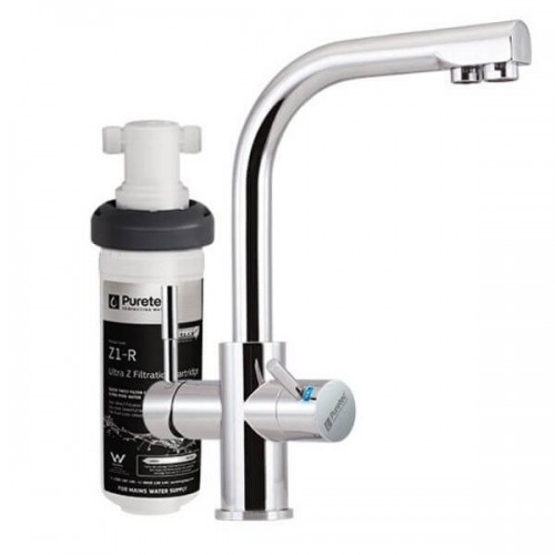 Puretec Z1-T3 Tripla Water Filter Kit Undersink With 3 Way LED Mixer Tap