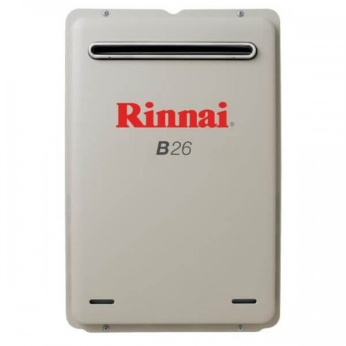 Rinnai B26 Preset 50C Natural Gas Builders Series Continuous Flow Hot Water System B26N50A