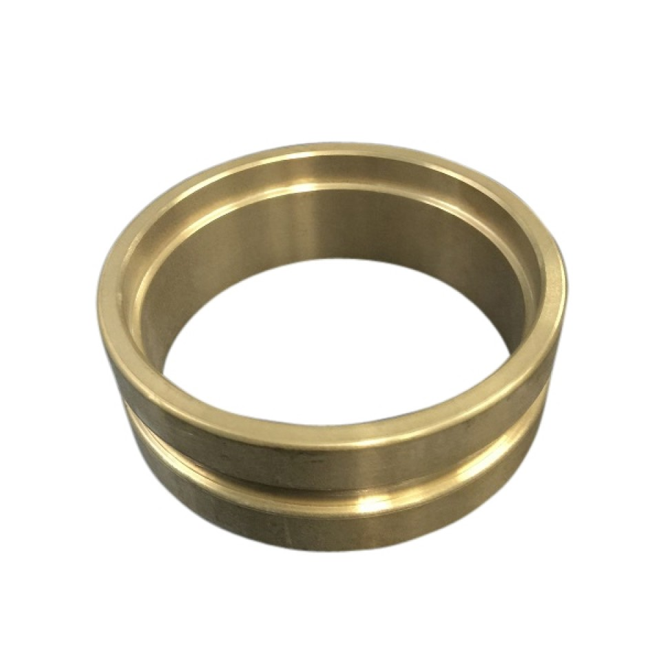 Mm roll groove brazing ring copper