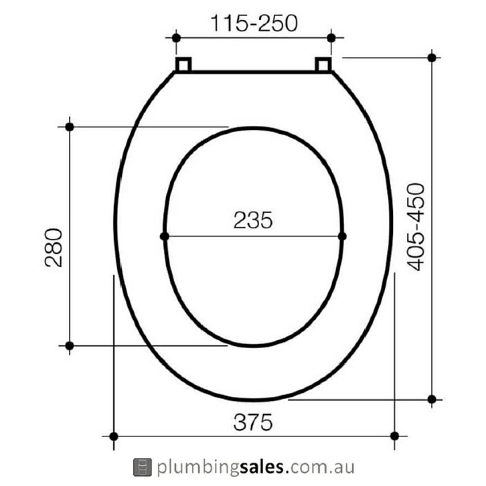 how to fix rubber plugs on toilet seat