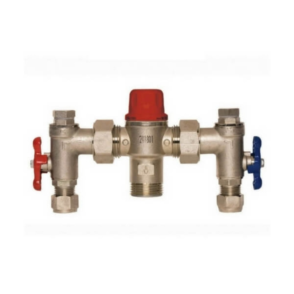 Thermostatic Mixing Valve: Aquablend 1500 Enware TMV