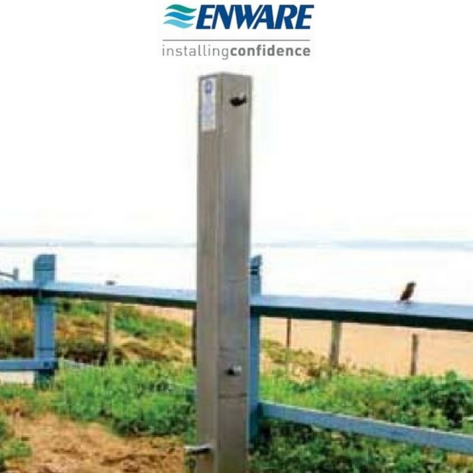 Enware Ecs201 Outdoor Shower Column Two Way Plumbingsales