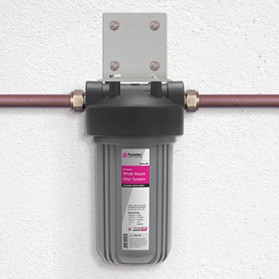 Puretec wh1 30 whole house single filters plumbing sales for Whole house plumbing trap