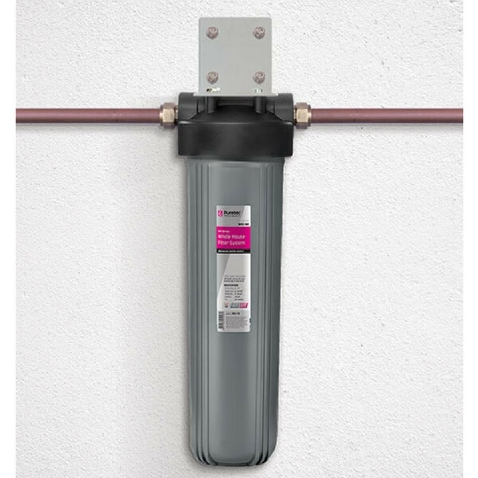 Puretec wh1 60 whole house single filters plumbing sales for Whole house plumbing trap