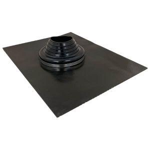 100mm - 150mm Black Leadax Versatile Pipe Flashing VLDXB100-150