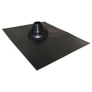 50mm - 90mm Black Leadax Versatile Pipe Flashing VLDXB50-90
