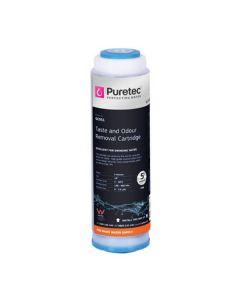 "Puretec GC051 5 Micron Granular Carbon Water Filter Cartridge 2.5"" x 10"""