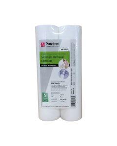 "Puretec PX051-2 Polyspun Sediment Water Filter Cartridge 2.5"" x 10"" 5 Micron"