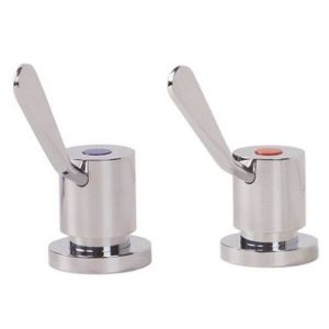 Gentec Cleanline 100mm Lever Basin Top Assembly (Pair) CL10030PR