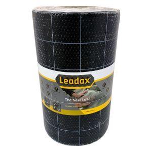 Leadax 300mm X 6m Black Roof Flashing